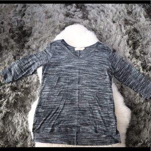 Faded Glory  gray shirt women